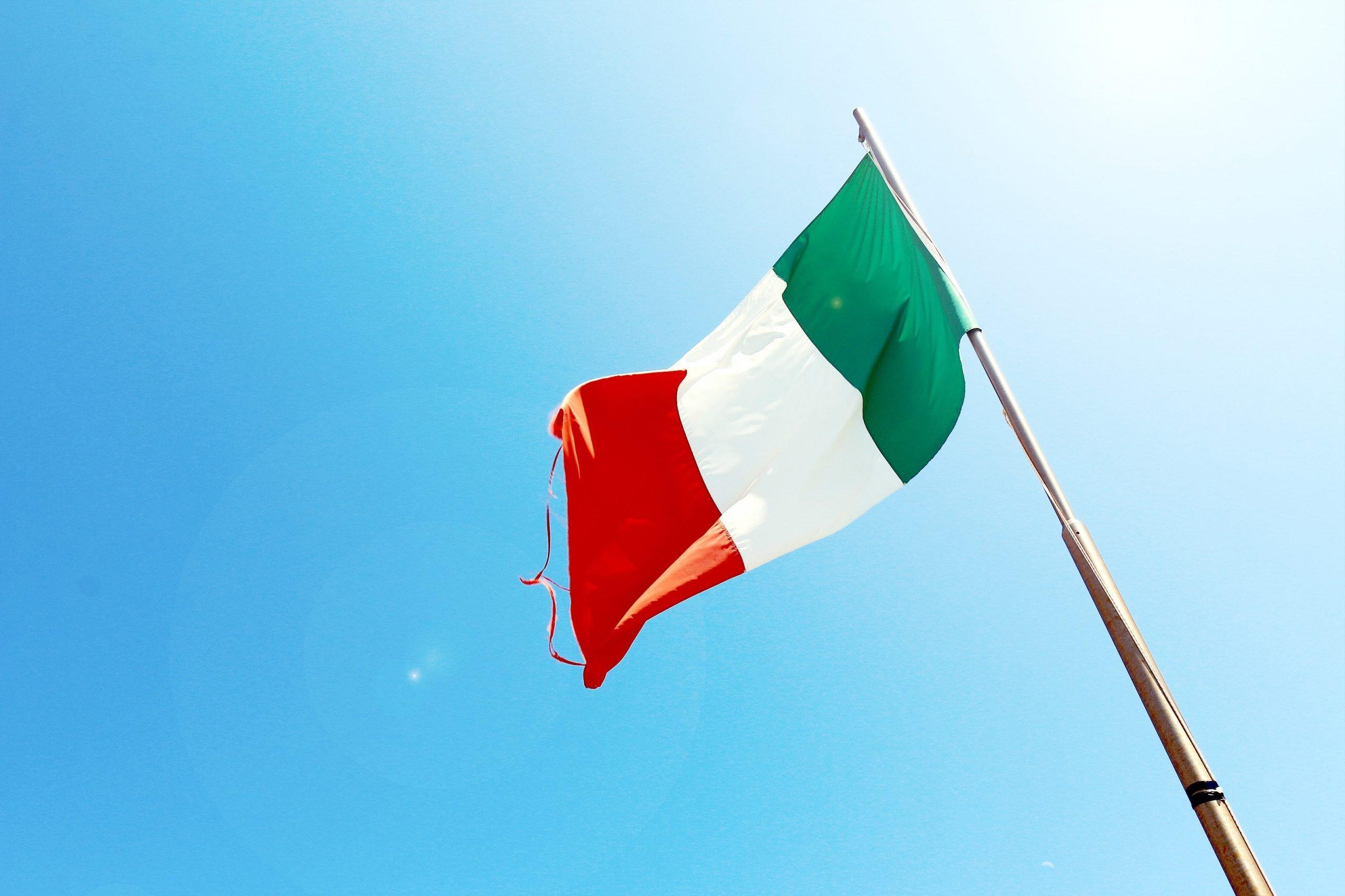 Włocha flaga