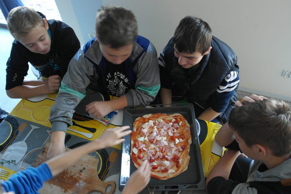 Warsztaty z Pizzy