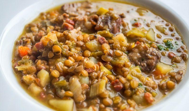 Zuppa di lenticchie (Zupa z soczewicy)